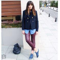 My best blogger! #modatutkusu Love their style!