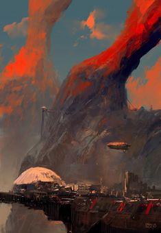 Base A, Eren ARIK on ArtStation at https://www.artstation.com/artwork/base-a