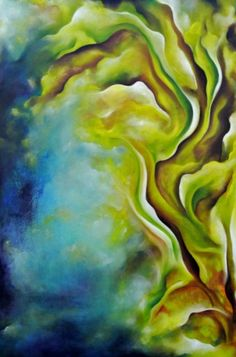 """Sacred Heart Oil on Canvas 36""""H x 24""""W https://aazamirilian.artspan.com"""