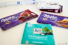 Süße Taschen aus Schokoladenpapier - Tasty-Sue