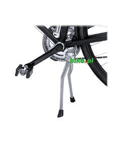 podwójna stopka rowerowa Pletscher Twin czarna