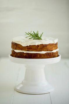 Orange + Olive Oil Cake W/ Yoghurt Frosting Recipe – The Healthy Chef Orange Olive Oil Cake, Christmas Trifle, Freshly Squeezed Orange Juice, Dessert Dishes, Desserts, Healthy Cake, Healthy Baking, Frosting Recipes, Flour Recipes
