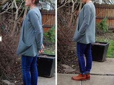 Bolt Neighborhood | Bolt Fabric Boutique | Portland, Oregon - Blog - Jalie Drop Pocket Cardigan