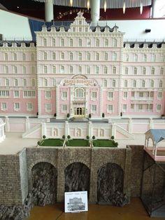 The Grand Budapest Hotel original movie model