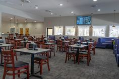 US Made Solid Wood Commercial Chairs, Restaurant Booths & Laminate Table Tops Can revitalize a restaurant's image like Tammy's Place in North Carolina
