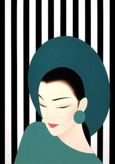 Kai Fine Art is an art website, shows painting and illustration works all over the world. Art And Illustration, Desenho Pop Art, Tableaux Vivants, Arte Fashion, Art Watercolor, Kunst Poster, Art Japonais, Japan Art, Fine Art
