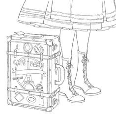 Color The Classics Anne Of Green Gables A Coloring Book Visit To Prince Edward