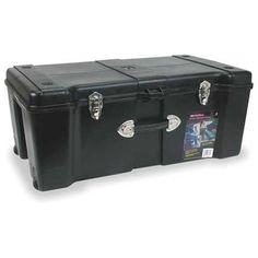 CONTICO+G13206+Rolling+Tool+Box,+Plastic,+32+In.+W,+Black