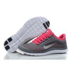 size 40 c5bc2 16660 Nike Free Run 3.0 V5 Womens Running shoe Gray Pink Nike Air Max, Nike Free
