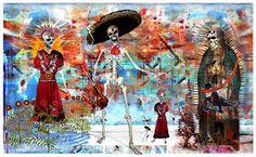 Image result for dias de los muertos wallpaper