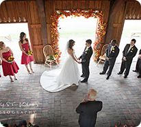 If we do our wedding in the pavillion, make sure the photographer gets a shot from above too :)