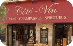 French wine shop