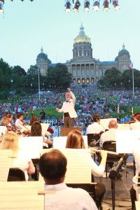 Join the Des Moines Symphony's annual Yankee Doodle Pops, Iowa's grandest Independence Day tradition! This year's theme is Our Greatest Generation — Honoring America's Heroes. This free, family-friendly and patriotic concert concludes with the area's premier fireworks display over the downtown Des Moines skyline. Bring your picnic baskets, blankets and lawn chairs, or purchase food from an array of vendors at the concert.