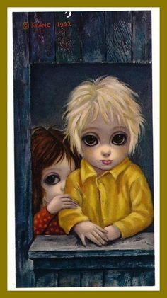 """The Shy One"" ~ Margaret Keane, 1962"