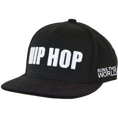 Flat Fitty Cap Hip Hop black ★★★★★
