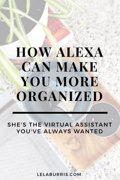 How Alexa Can Make You More Organized - Organized-ish by Lela Burris Alexa Tricks, Alexa Commands, Amazon Alexa Devices, Amazon Alexa Skills, Iphone Information, Ipad Hacks, Computer Help, Computer Tips, Simple