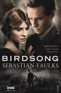 Birdsong by Sebastian Faulks. This is the story of Stephen who arrives in Amiens in 1910. His life goes through a series of traumatic experiences, from the clandestine love affair that tears apart the family with whom he lives, to the unprecedented experience of the war itself.