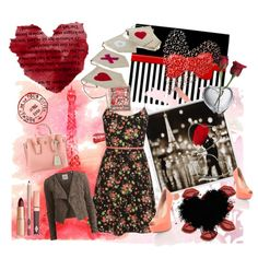 """happy valentines date"" by diaparsons on Polyvore"