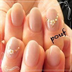 Necklace design nails