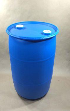 5 Gallon Round Plastic Closed Head Containers Plastic