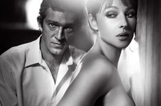 Vincent Cassel and Monica Belluci
