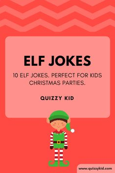 Need some good, funny elf jokes? These jokes are perfect for kids. How many elves does it take to change a lightbulb? What did one elf say to the other elf? Christmas Jokes For Kids, Funny Christmas Jokes, Christmas Activities, Christmas Humor, Christmas Fun, Funny Jokes For Kids, Silly Jokes, Clean Jokes For Kids, Kid Jokes