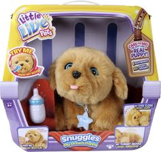 Little Live Pets - Snuggles My Dream Puppy - Tan/Brown