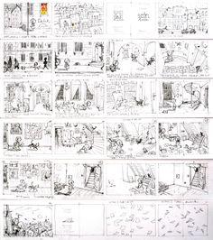 Development work for 'Deček in Hiša / A Boy and a House' by Maja Kastelic – published by Mladinska knjiga, Slovenia