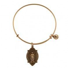Mother Mary Charm Bangle