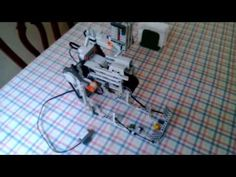 Mindstorms dice rolling machine - YouTube