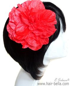 Large Hair Flower $8.99