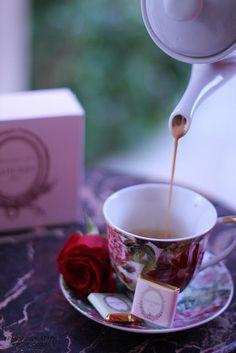 Morning Tea Time.