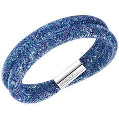 Pulsera | Pulseiras  Swarovski Stardust Blue Double 5189759