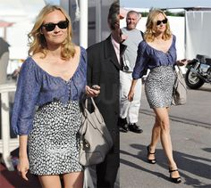 Love Diane Kruger! Such great style.