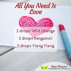 Love is all you need when you have this blend in your diffuser. Sensual and exotic Ylang Ylang is renowned for its aphrodisiac properties while Wild Orange and Bergamot are known to uplift and calm. This combo will certainly put anyone in the mood to have a good day. #thebeatles #essentialoils #diffuserblend