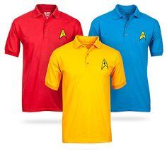 Polos al estilo Star Trek