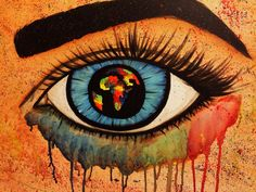 Open up your eyes and see how colorful the world is #renisoaresart