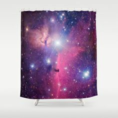 Purple Galaxy Shower Curtain - Available Here: http://society6.com/rapplatt/Purple-Galaxy-KWS_Shower-Curtain#35=287