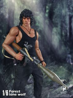 """>> Click to Buy << 1/6 scale figure Collectible Model plastic toy First Blood John J. Rambo Jungle wolf Sylvester Stallone 12"""" Action figure doll #Affiliate"""