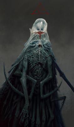 ArtStation - Sister of the Transcendent Chrysalid, mike franchina