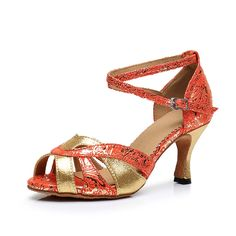 33.09$  Watch more here - http://aijr7.worlditems.win/all/product.php?id=32796980512 - Brand Luxury Satin Salsa Shoes Footwear For Ballroom Dancing Women Gold Jazz Tango Plus Size 34-41 Zapatos De Baile Latino Mujer