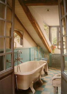 cozy bathroom