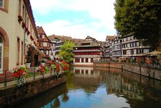 La Petite France - Strasbourg, France   La petite France for me is the cutest area in Strasbourg. Really enjoy the historical atmosphere here. .. Just walking around, watching people while having a cup of coffee, taking some pictures and a boat tour to see those timbered house... C'est la vie!!!