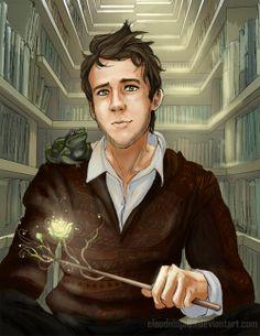Neville Longbottom. Probably the best fan art i've seen...