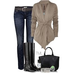 """""""Boots!"""" by tmlstyle on Polyvore"""