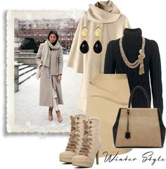 """winter style"" by sagramora ❤ liked on Polyvore"