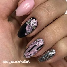 nail art designs for spring 2020 nail arts nail arts art designs for spring 2020 short acrylic nails sponge nail art Uñas One Stroke, One Stroke Nails, Stylish Nails, Trendy Nails, Cute Nails, Pretty Nail Art, Beautiful Nail Art, Winter Nails, Spring Nails
