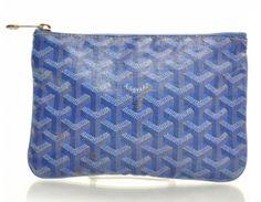 97245e4c99 Goyard Blue Senat PM Pouch Goyard Handbags