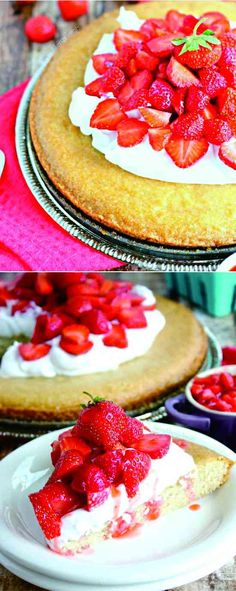 STRAWBERRY SHORTCAKE: GLUTEN FREE VEGAN - cake, dessert, gluten free, recipes, shortcake, strawberry