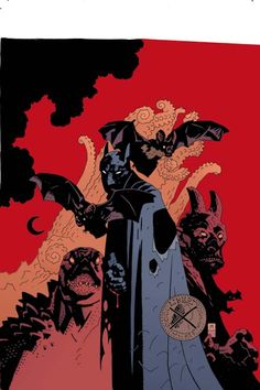 Batman by Mike Mignola